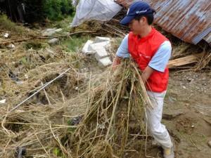台風18号被害支援①